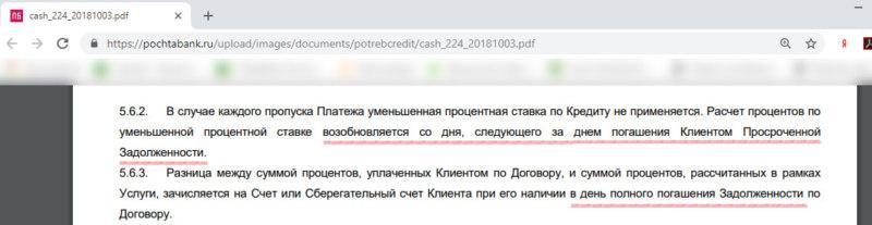Условия Гарантированной Ставки Почта Банка в 2018 году