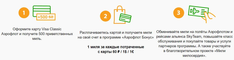 Карты рассчитаны на накопление милей за покупки, которыми можно заплатить за билеты, повысить класс обслуживания при перелете или обменять на подарки
