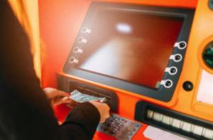 По Maestro и пенсионным картам снятие через иные банки и банкоматы не предусмотрено