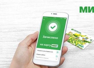 Стоимость мобильного банка карт МИР Сбербанка для бюджетников