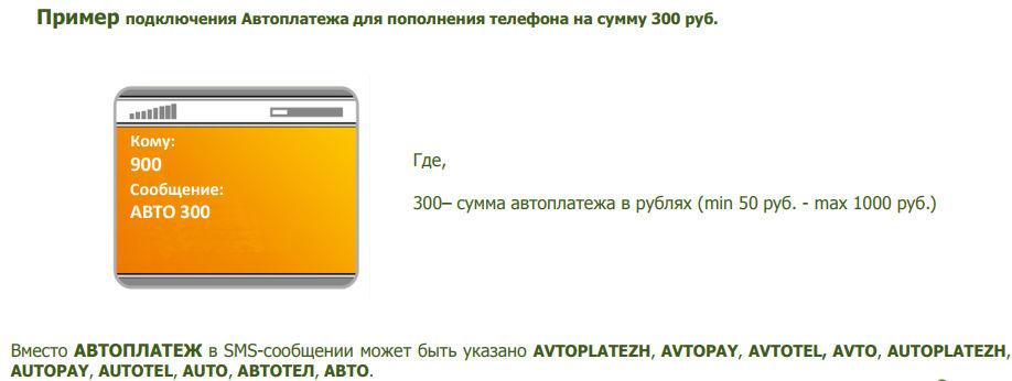 Подключите автоплатеж для МТС, Билайн и прочих операторов через СМС
