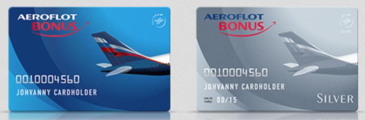 Бонусные карты Аэрофлот бонус