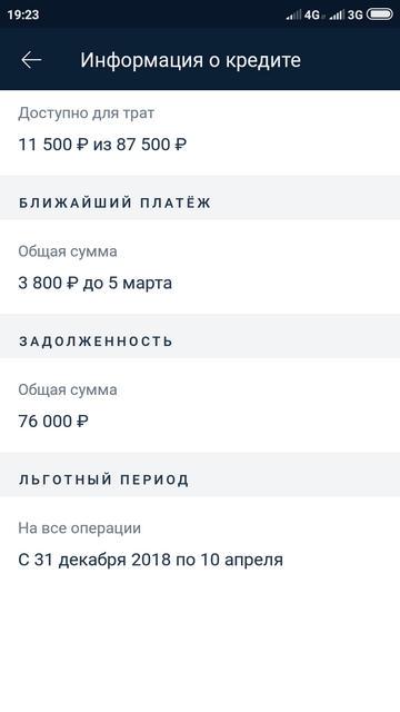 Информация о кредите по карте 100 дней без процентов Альфы