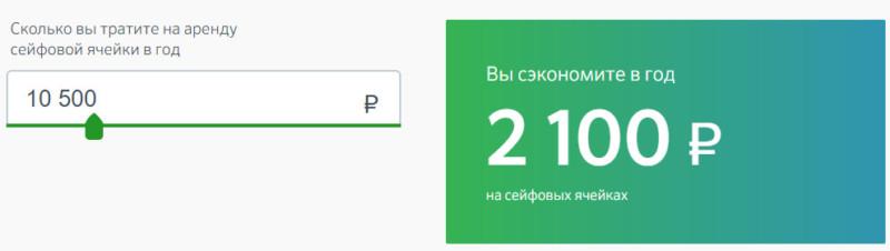 При определенных банком условиях клиенты Сбербанк Премьер могут получить до 20% скидки на аренду сейфовых ячеек