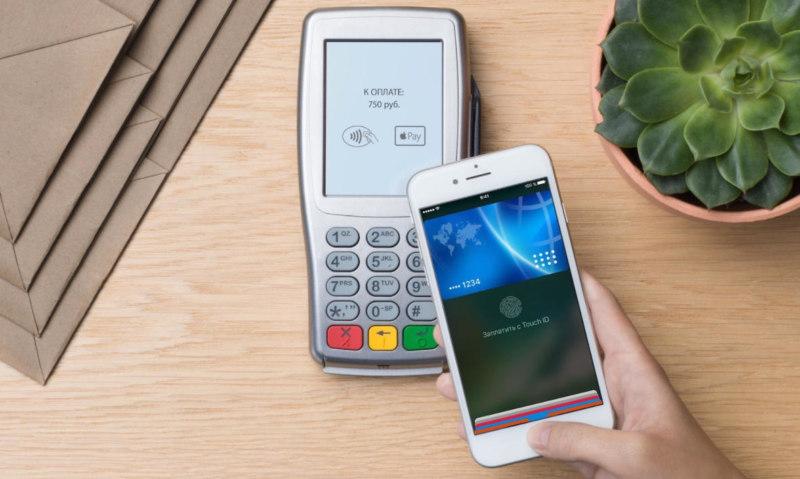 Сбербанк - бесконтактная оплата через телефон