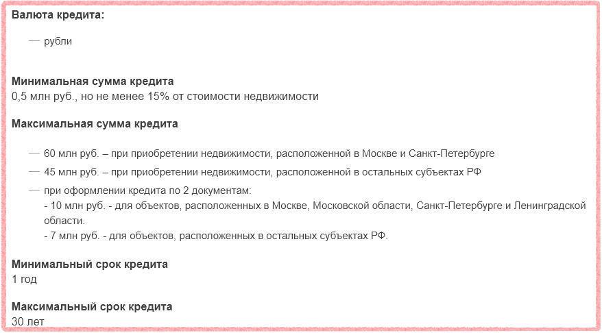 Условия ипотеки Газпромбанка для покупки квартиры в новостройке