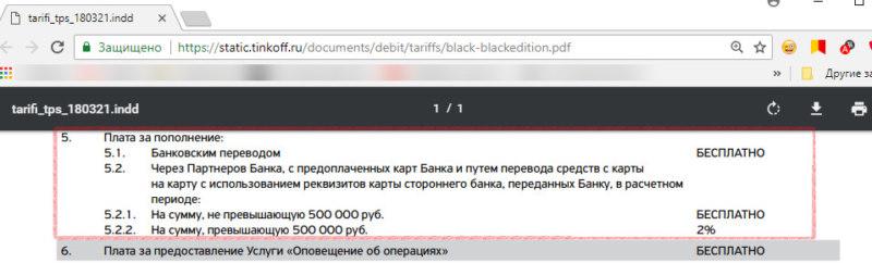 Лимиты для Black Edition