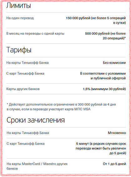 Ограничения при оплате кредита через сайт Тинькофф