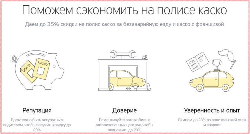При оформлении полиса автострахования в Тинькофф можно существенно сэкономить, при выполнении ряда условий