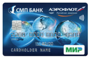 Карта МИР с кэшбэком от СМП Банка