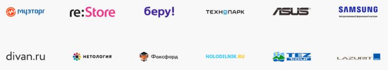 Партнеры по онлайн и офлайн кредитованию в рамках проекта Покупай со Сбербанком.